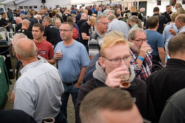1100 havde købt billet til Øllets Dag på Thisted Bryghus lørdag.