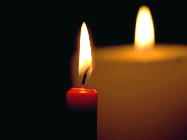Levende lys i kirken