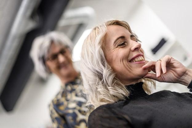 Conni Berg Christiansen overtager efter 10,5 år som ansat i salonen. Foto: Nicolas Cho Meier Nicolas Cho Meier