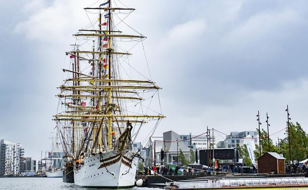 Ohøj: Kom med om bord på Sørlandet