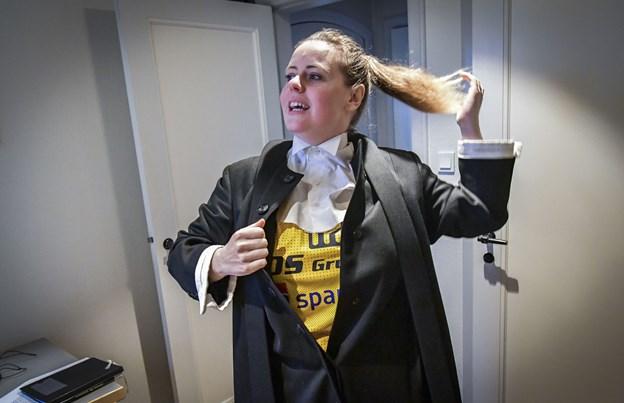 Hobro, HIK og Helligånden: Sognepræsten prædiker i fantrøje