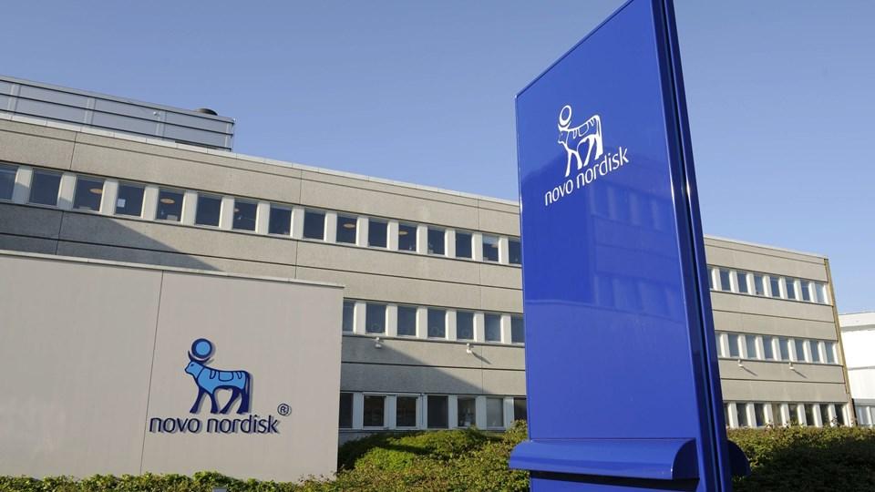 En stribe Novo Nordisk direktører har solgt ud af deres aktiebeholdninger og scoret kassen ovenpå rekordhøje kurser på Novo-aktien. Arkivfoto