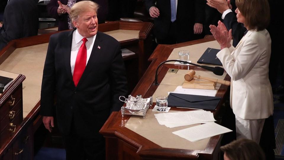 USA's præsident, Donald Trump, udnyttede nattens tale til nationen til at bekræfte et nyt topmøde med Kim Jong-un.