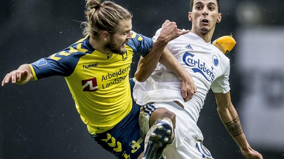 Brøndby og FC København mødes næste gang 15. april. Foto: Scanpix/Mads Claus Rasmussen