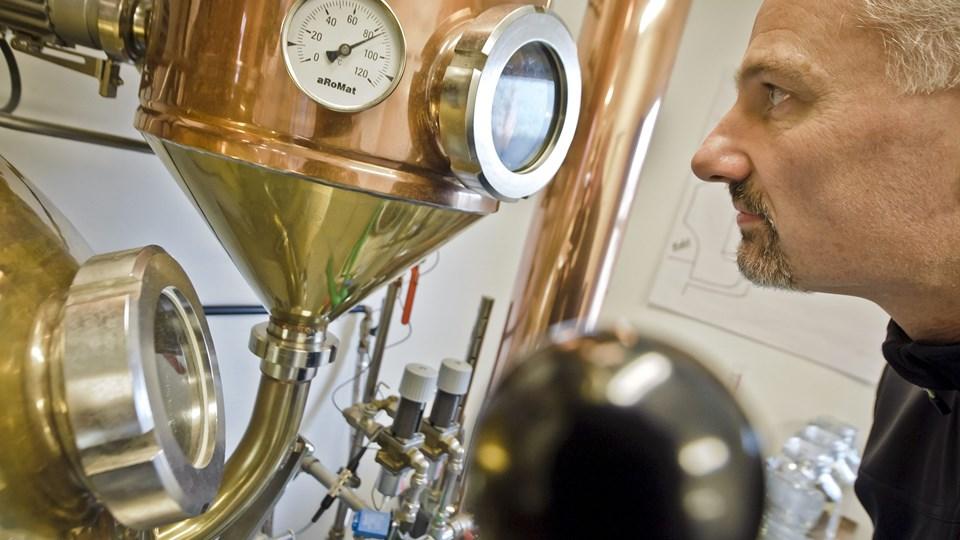Anders Bilgrams gin lanceres først i Danmark - derefter kommer Norden og resten af verden. Arkivfoto