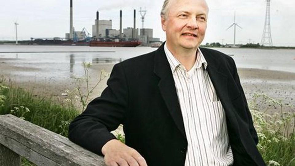 Henrik Lund - en nøgleperson i bestræbelserne på at gøre Frederikshavn til en by, der klarer sig med vedvarende energi.arkivfoto: Claus søndberg