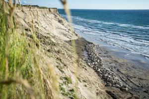 Tiltalt for ulovlig kystsikring med 650 ton granitsten