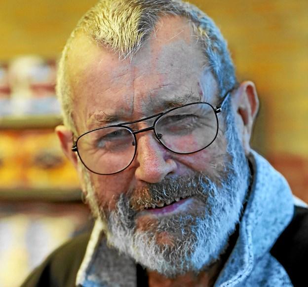 Knud Kristensen: - Jeg holder 65-års fødselsdag for hele familien på Restaurant Strandvejen i Hals. Det bliver hyggeligt. Foto: Allan Mortensen