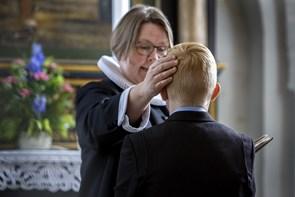 Konfirmation i Valsgaard Kirke