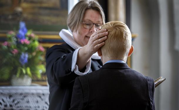 Konfirmation i Ravnkilde kirke