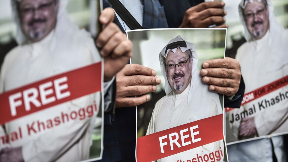 Jamal Khashoggi har i en årrække skrevet meget kritisk om det saudiske regime og i særdeleshed kronprins Mohammad bin Salman. Nu er han forsvundet efter et besøg på det saudiske konsulat i Istanbul. Foto: Ozan Kose/Ritzau Scanpix