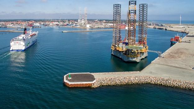 Frederikshavn: Skrotning af borerigge betyder nye arbejdspladser