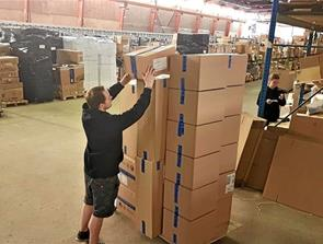 800.000 pakker ud fra Cykelgear.dk i Terndrup