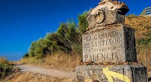 Fortæller om at  gå Caminoen