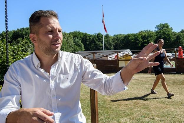 Campingpladsejer Kasper Wæhrens opfordrer til nytænkning indenfor branchen.    Arkivfoto: Peter Broen