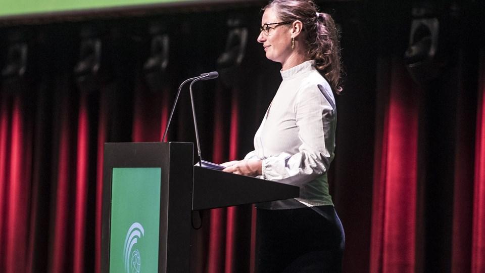 Teknik- og miljøborgmester i Københavns Kommune Ninna Hedeager Olsen vendte mandag tilbage til arbejde efter fire måneders sygemelding. (Arkivfoto)
