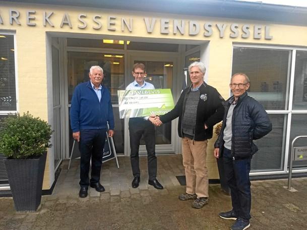 Donation på 100.000 kr. til søer i Nr. Lyngby