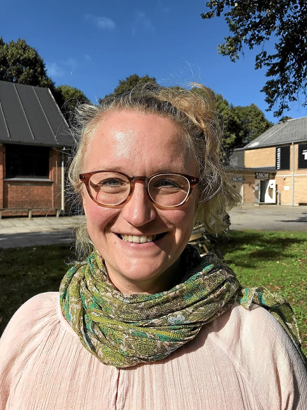 Katrine Bach Skovmand er ny sangcoach og dirigent for Nordjysk Pigekors juniorkor. Privatfoto