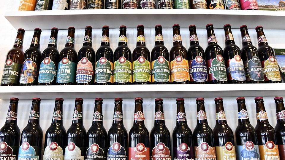 2017 kom der rekordmange nye øl på markedet. 2018 bliver måske endnu bedre. Arkivfoto: Bent Bach
