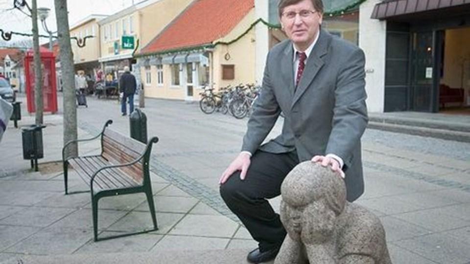 Ole Rørbæk Jensen (T) tror ikke, at man kommer igennem budgettet for 2007 uden at skære på de kommunale kerneydelser. Arkivfoto:
