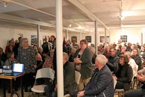 Foredrag på Dorf Møllegård trak fuldt hus