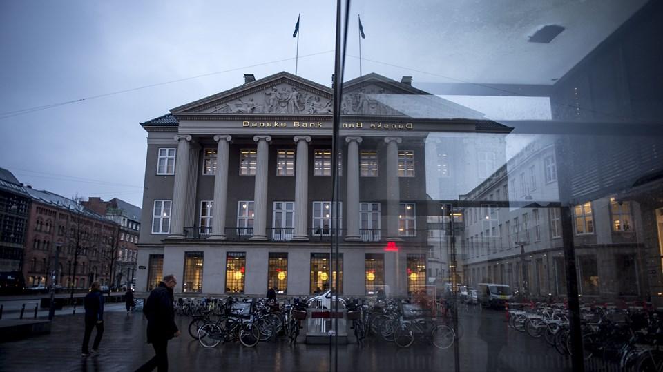 Danske Bank er en af de banker, der har sendt milliarder til sine aktionærer i 2017. Foto: Scanpix/Mads Claus Rasmussen