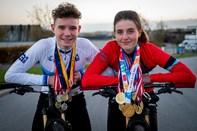 Sej bror og søster fra Gug høster den ene guldmedalje efter den anden