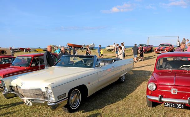 Hyggeligt biltræf med 150 velholdte biler