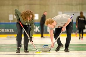 Åbent hus hos curling klub