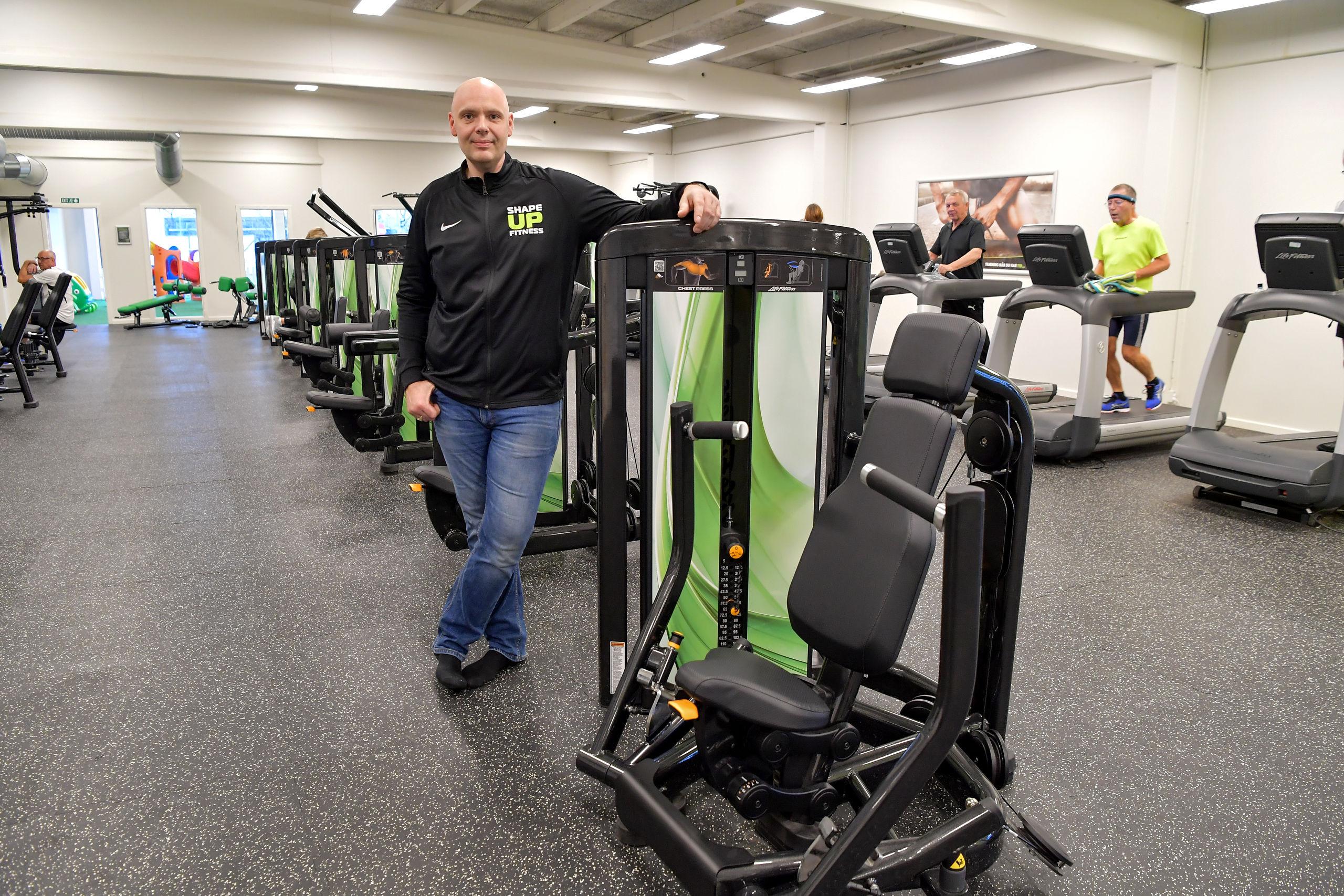 Færdigt på rekordtid: Det store og spritnye fitnesscenter er åbnet