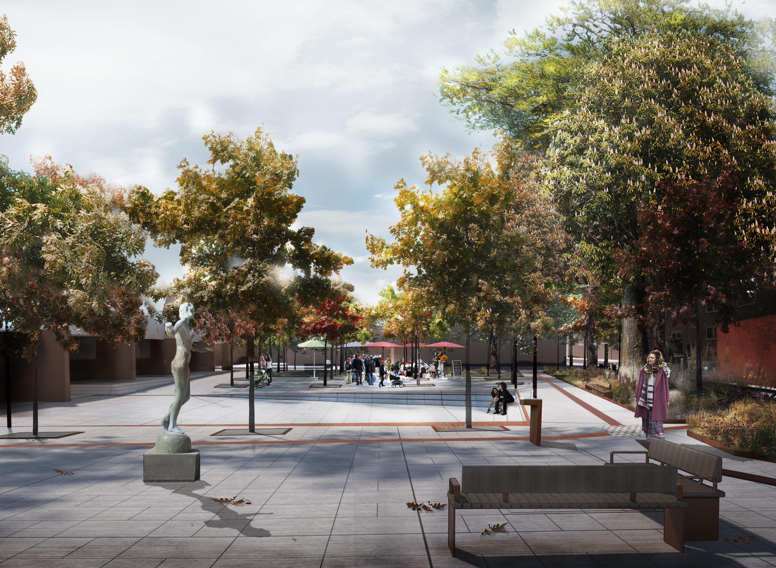 Vestbyen får nyt grønt område: Arbejde med ny station begynder snart