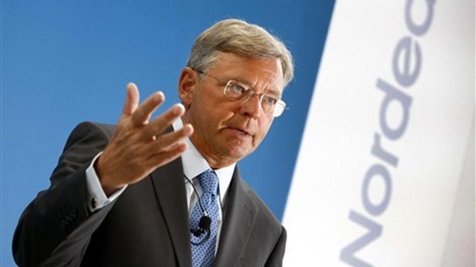 Topcheferne i Nordea har haft den største lønstigning med over 45 procent. Foto: Scanpix