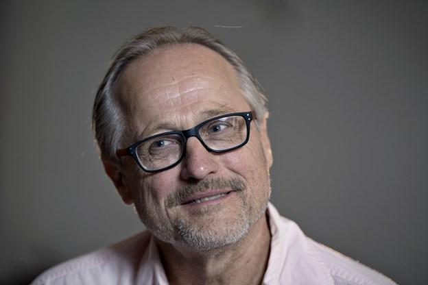 Skuespiller Jørgen W. Larsen - er også i år manden bag julespillet i Hobro. Arkivfoto