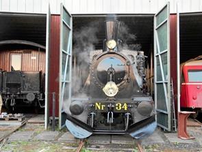 Damplokomotivet er som en dinosaur fra en svunden storhedstid...