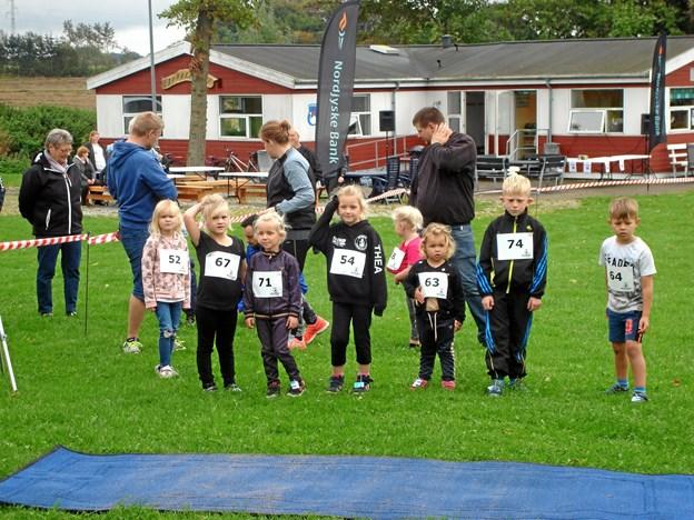 Fra tidligere børneløb i Søparken. Privatfoto
