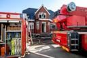 Elektrisk løbehjul startede voldsom brand: Familie fik reddet sig ud