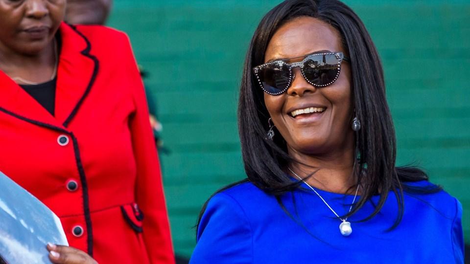Trods et forbud mod handel med elfenben krævede Grace Mugabe angiveligt en tilladelse til at eksportere elfenben for millioner af dollar. Foto: Scanpix/Jekesai Njikizana/arkiv