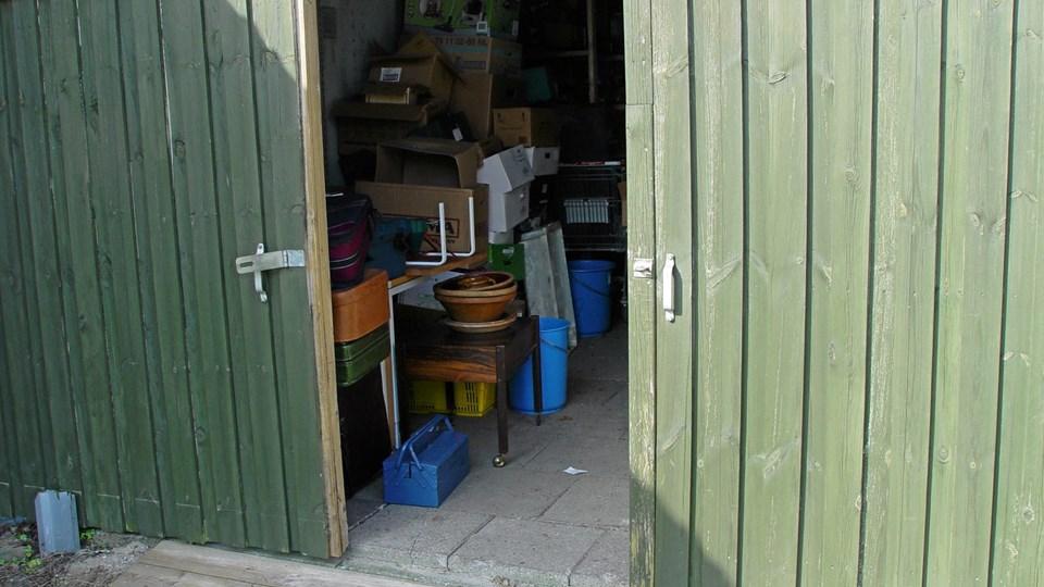 Brudte hængelåse og åbne porte var, hvad spejderne lørdag morgen mødte ind til. Privatfoto