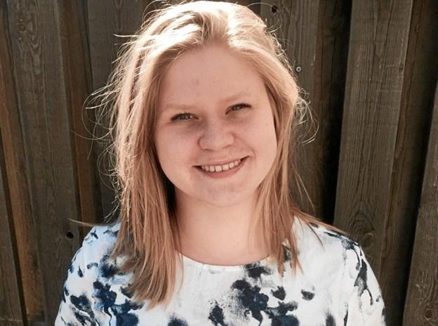 Anja er en af de unge, som også er frivillig i kommunens krisecenter for kvinder.