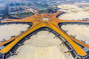 Kinesisk megalufthavn skal lette presset på Beijing