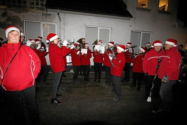 Aalborg Garden møder igen i år op for at være med til at skabe den gode julestemning med masser af velklingende julemusik. Foto: Jørgen Ingvardsen Jørgen Ingvardsen