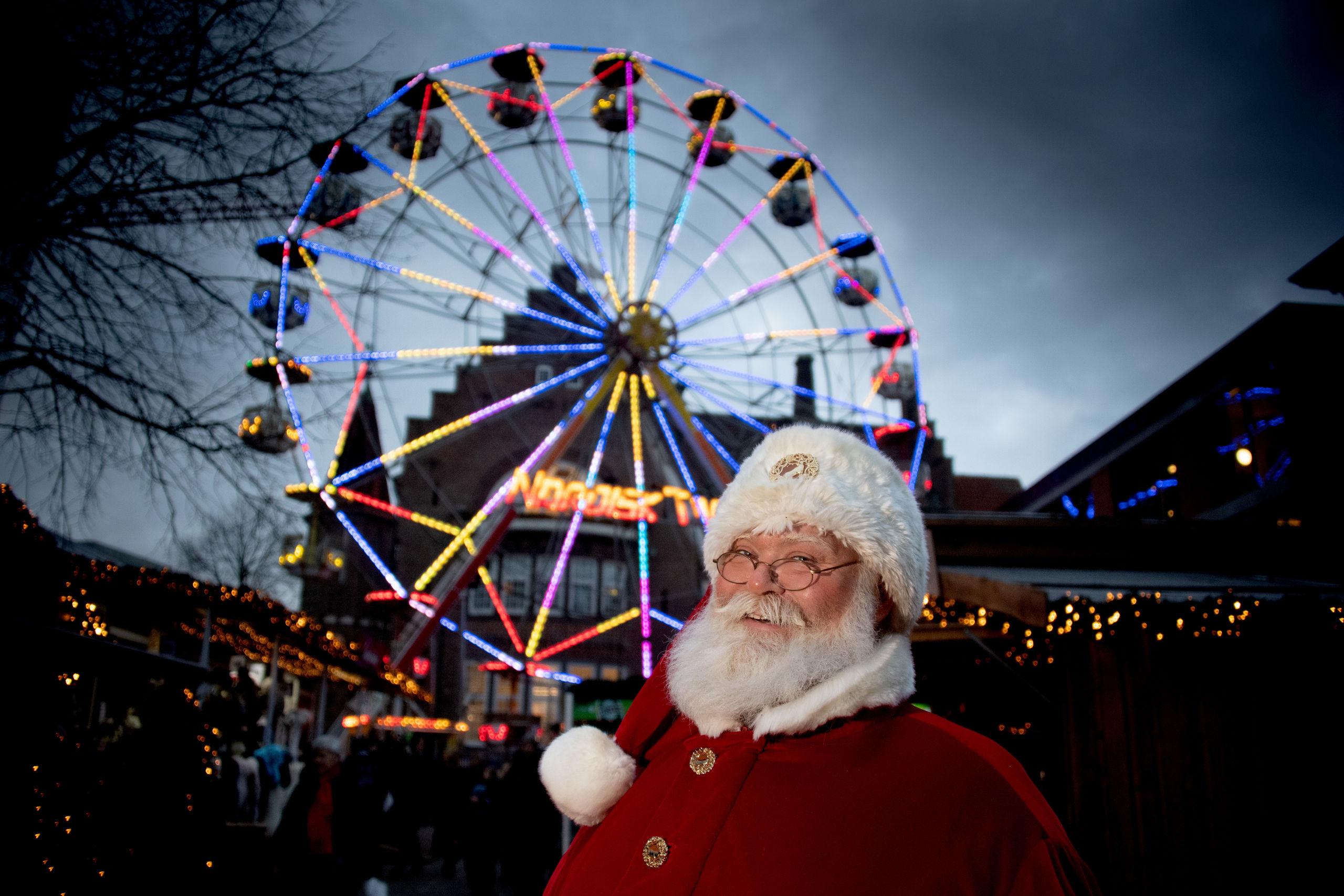 Ho ho ho: Julemanden elsker at være i Aalborg