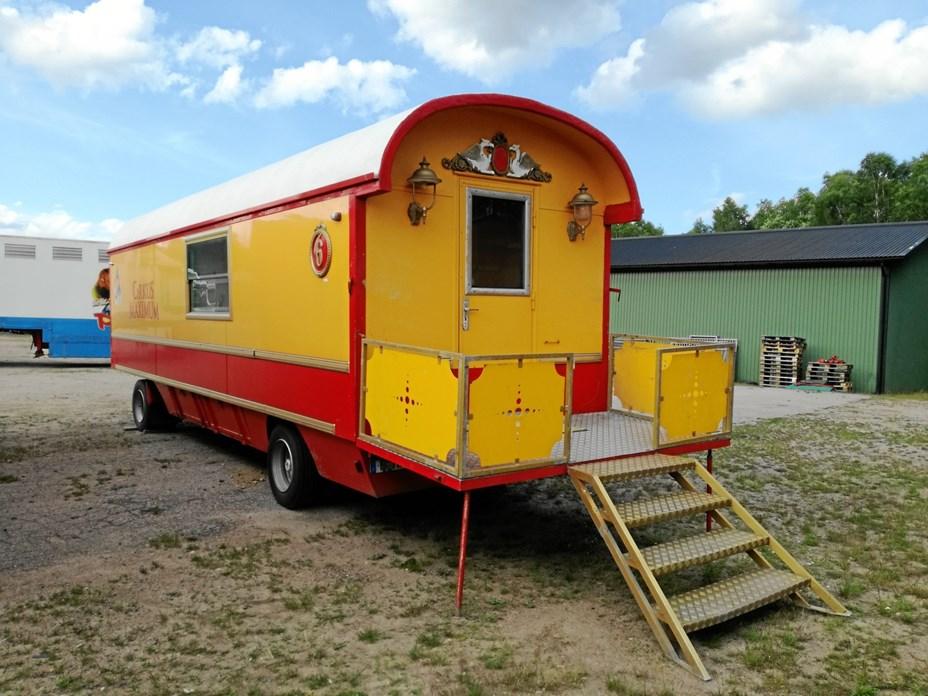 Cirkusvogne som pensionat er godt på vej