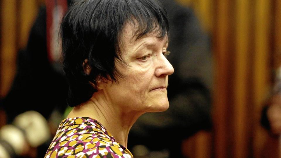 Britta Nielsen er sigtet for at have svindlet for mindst 111 millioner kroner - penge hvoraf nogle af dem skulle have gjort gavn hos nogle af Jammerbugt Kommunes svageste borgere. Foto: Themba Hadebe/AP/Ritzau Scanpix