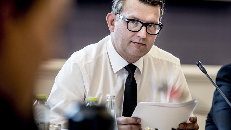 Ifølge beskæftigelsesminister Troels Lund Poulsen (V) er det en falliterklæring, at der findes borgere, som i over ti år har været på kontanthjælp. Blandt dem er mange med ikkevestlig baggrund. Foto: Scanpix/Mads Claus Rasmussen/arkiv