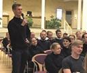 Politikere på stemmefiskeri blandt maritime studerende: Unge ville tale om klima og integration