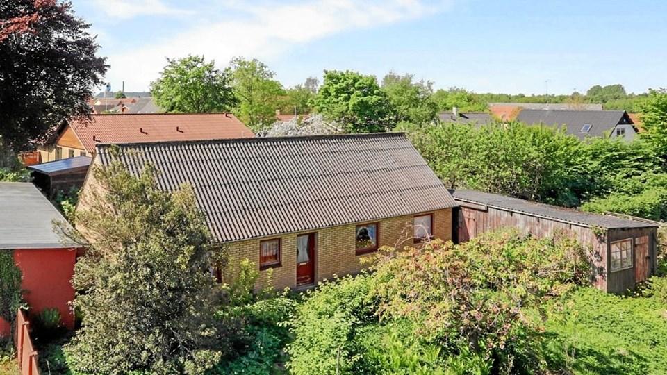 Her er Nordjyllands p.t. billigste hus. Der ligger i Bindslev og koster 100.000 kr. Foto: Home