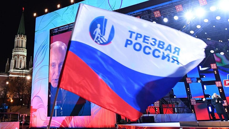 Rusland under præsident Vladimir Putin er en vanskelig, men nødvendig partner, siger Tysklands nye udenrigsminister i en kommentar til Putins genvalg. Foto: Scanpix/Kirill Kudryavtsev