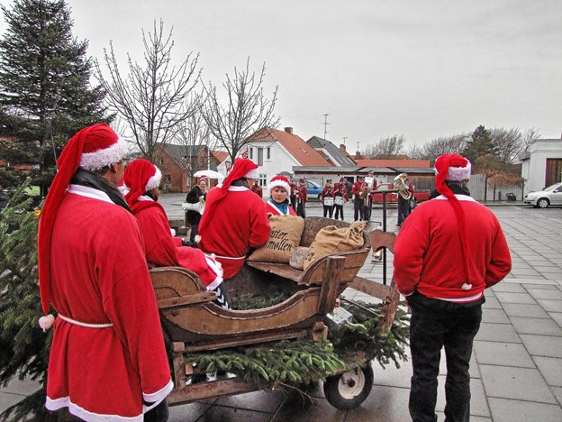 Søndag 2. december er det første søndag i advent, og byen starter julemåneden med en lang række festlige aktiviteter i Vestervig. Arkivfoto