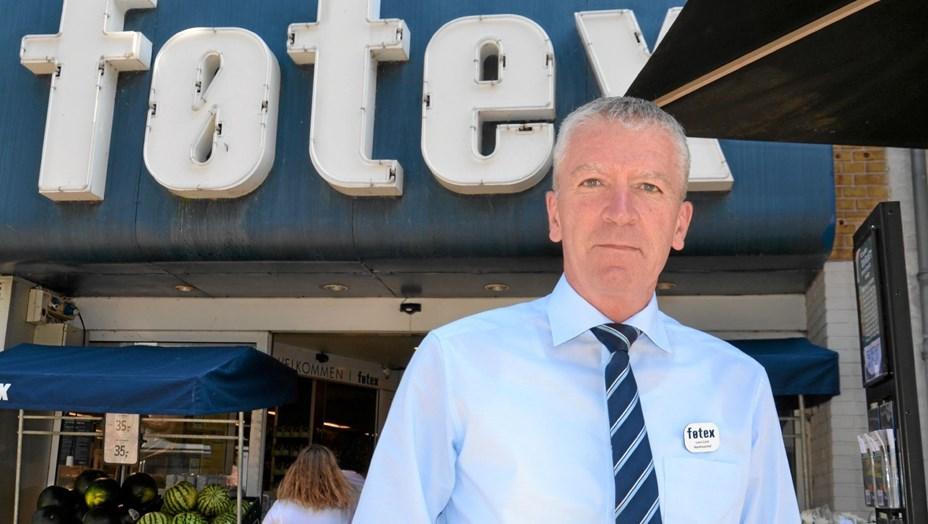 Lars er ny varehuschef i Føtex: Han kalder sig helst købmand